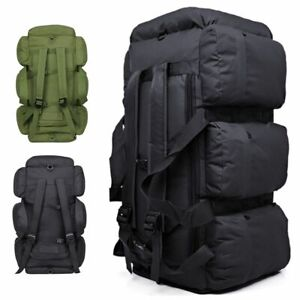 90L-Large-Military-Tactical-Backpack-Outdoor-Camping-Trekking-Duffle-Bag-Luggage
