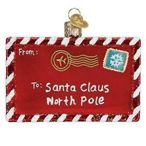 Old-World-Christmas-LETTER-TO-SANTA-36281-N-Glass-Ornament-w-OWC-Box