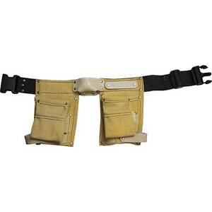 Childrens-Kids-Toy-Tool-Belt-Set-Personalised-Leather-Connell-of-Sheffield