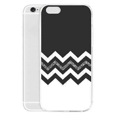 DIY Welle Muster Handyhülle Handy Schutzhülle Tasche für iPhone Samsung Huawei