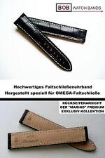- BOB FALTSCHLIESSENBAND 20 mm ALLIGATORPRÄGUNG Kompatibel mit OMEGA -Faltschlie