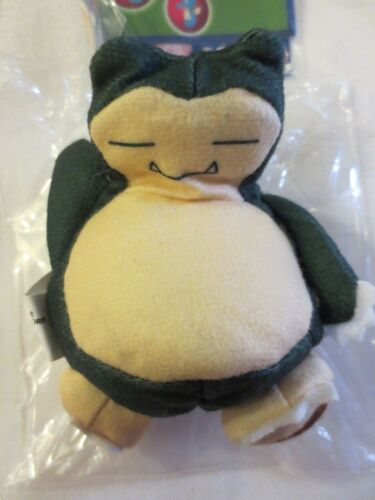 1999 BURGER KING POKEMON TOY #59-13 SNORLAX BEAN BAG  NEW