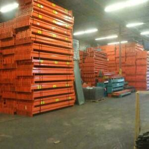 over 10000 used redi rack beams in stock at our warehouse! Pallet racking - storage rack - industrial shelving Mississauga / Peel Region Toronto (GTA) Preview