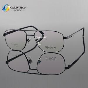 Brand Design Unisex Fashion Full Rim Titanium Optical Eyeglasses Frame Gold Silver Clear Lens Myopia Goggle Eyewear Spectacle Men's Eyewear Frames