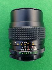 Helios 135mm f2.8 large aperture prime lens in M42 screw mount