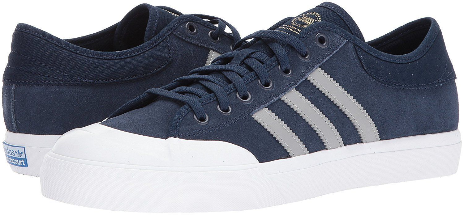 ADIDAS ORIGINAL MATCHCOURT LOW SNEAKERS MEN SHOES NAVY BY3983 SIZE 13.5 NEW