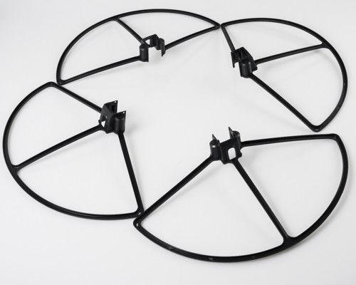 schwarz Rotor-Schutz-Set Abdeckungen passend für DJI Phantom 1 u.a
