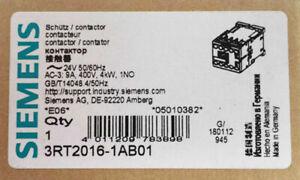 SIEMENS Contactor 3RT2016-1AB01