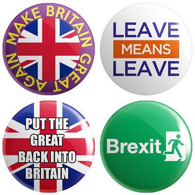 Metal Patriotic Gifts Brexit Politics Make Britain Great Again Keyring