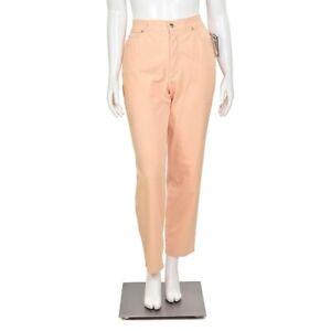 Escada-Peach-Orange-High-Waist-Relaxed-Stretch-Cotton-Denim-Mom-Jeans-size-44-14