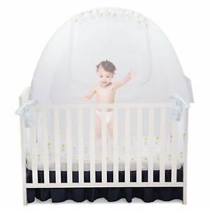 Image is loading Self-Propping-Baby-Crib-Tent-Safety-Net-Pop-  sc 1 st  eBay & Self Propping Baby Crib Tent Safety Net Pop Up Canopy Cover 52