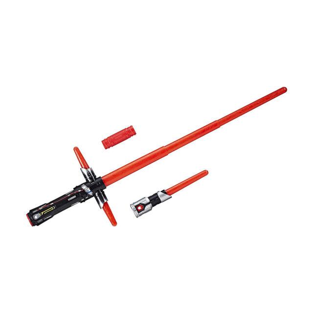 Hasbro C1577 - Star Wars Episode 8 Kylo Ren, Elektronisches Lichtschwert