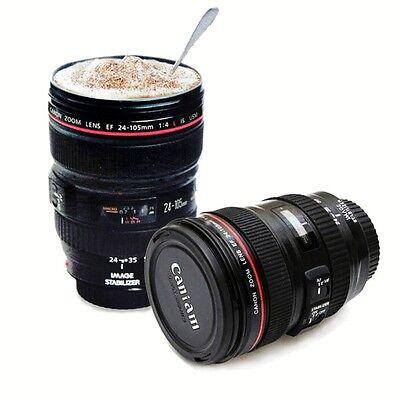 AU 24-105mm Travel Mug Cup Coffee Tea Camera Lens Cup Portable Multi Purpose