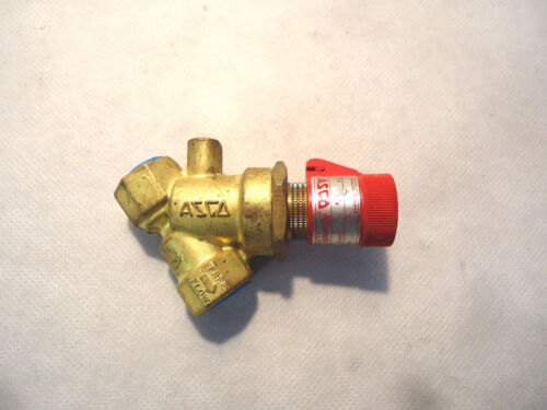 "NEW ASCO V022A1 FLOW CONTROL PIPE 1/4"" OROFICE 3/8"""