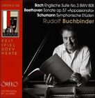 Bach: Englische Suite No. 3; Beethoven: Sonate, Op. 57; Schumann: Symphonische Etden (CD, Jul-2008, Orfeo)