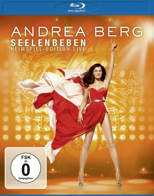 ANDREA BERG - SEELENBEBEN-HEIMSPIEL EDITION LIVE   BLU-RAY NEW
