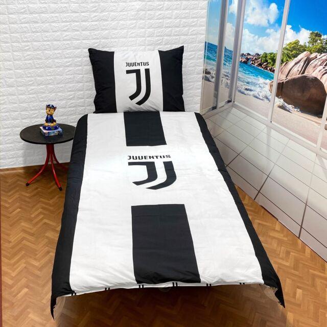 Juventus Torino Lenzuola Biancheria Da Letto Reversibile Coperte E Calcio Juve Acquisti Online Su Ebay