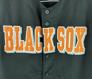release date bb3f5 3e8dc Details about NLBM Replica Baltimore Black Sox Jersey Size 4XL #7 Negro  League Oh Trading Co