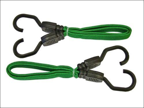 cuerdas y sujeción-faitdbung24 Plana Cordón elástico de 61 cm Verde-cadenas 24 pulgadas