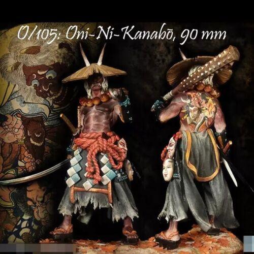 1//20 Resin Figure Model Kit ONI-NI-KNABO Warrior Unpainted Unassambled
