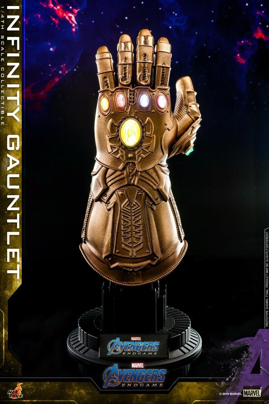 HOT TOYS ACS007 Avengers  Endgame 1 4 LED Thanos Infinity Gauntlet