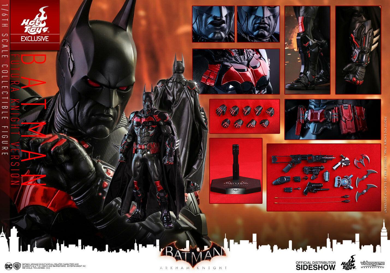 Hot Juguetes Arkham Knight Batman Figura De Escala 1 6 De Juego Caballero futura de 903236 VGM29