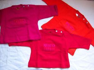 68 74 80 Pullover KENZO JUNGLE Baby Sweatshirt für Mädchen Gr