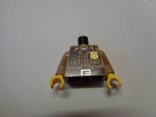 LEGO Police Pompier Fire Personnage Figurine Minifig Torse Chest Choose Model