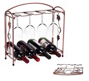 Weinhalter Weinregal Flaschenhalter Weinständer Glashalter Gläserhalter Wein