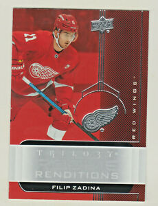 2019-20-UD-TRILOGY-ROOKIE-RENDITIONS-RR-25-FILIP-ZADINA-RC-Detroit-Red-Wings