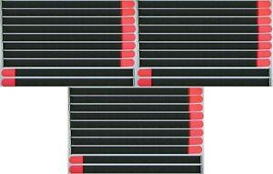 30 X Câble Velcro Velcro 800 X 50 Mm Neon Rouge Fk Velcro Serre-câbles Velcro Bandes-afficher Le Titre D'origine Produits Vente Chaude