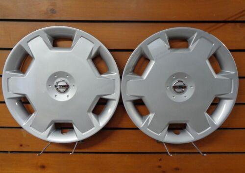 "Pair Of 2007 2008 2009 2010 Fits Nissan Versa Cube 15/"" Hubcap Rim Wheel Cover"