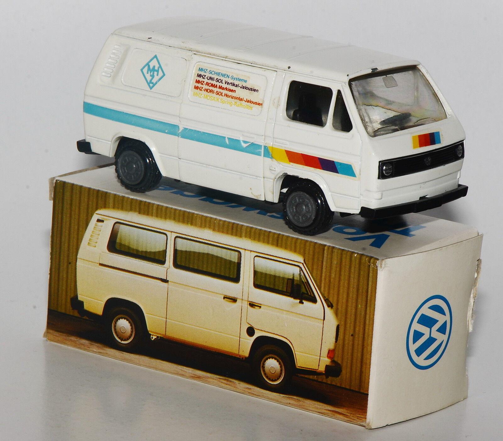 Conrad scale 1 43 - Publicité modèle-vw t3 Transporteur  MHz  dans Volkswagen-werbebox