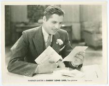 WARNER BAXTER original movie photo 1931 DADDY LONG LEGS