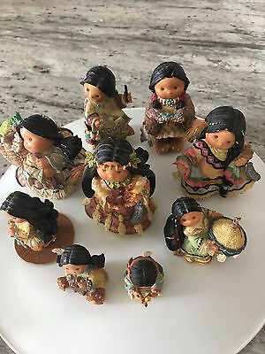 Friends of the Feather, Enesco, 9 Pc Lot