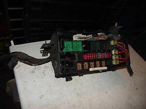 ford fiesta mk4 1 2 y reg fuse box ebay rh ebay co uk ford fiesta mk4 fuse box diagram ford fiesta mk4 fuse box layout