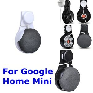 Wall-Outlet-Mount-Holder-Hanger-Stand-Grip-For-Google-Mini-Voice-Assistants-New