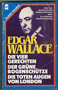 Drei der Berühmtesten Edgar Wallace Romane in moderner Neuübersetzung - Deutschland - Drei der Berühmtesten Edgar Wallace Romane in moderner Neuübersetzung - Deutschland