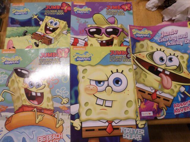 - 2011 Spongebob Squarepants Big Kahuna Coloring Book Nickelodeon Golden Books  For Sale Online EBay