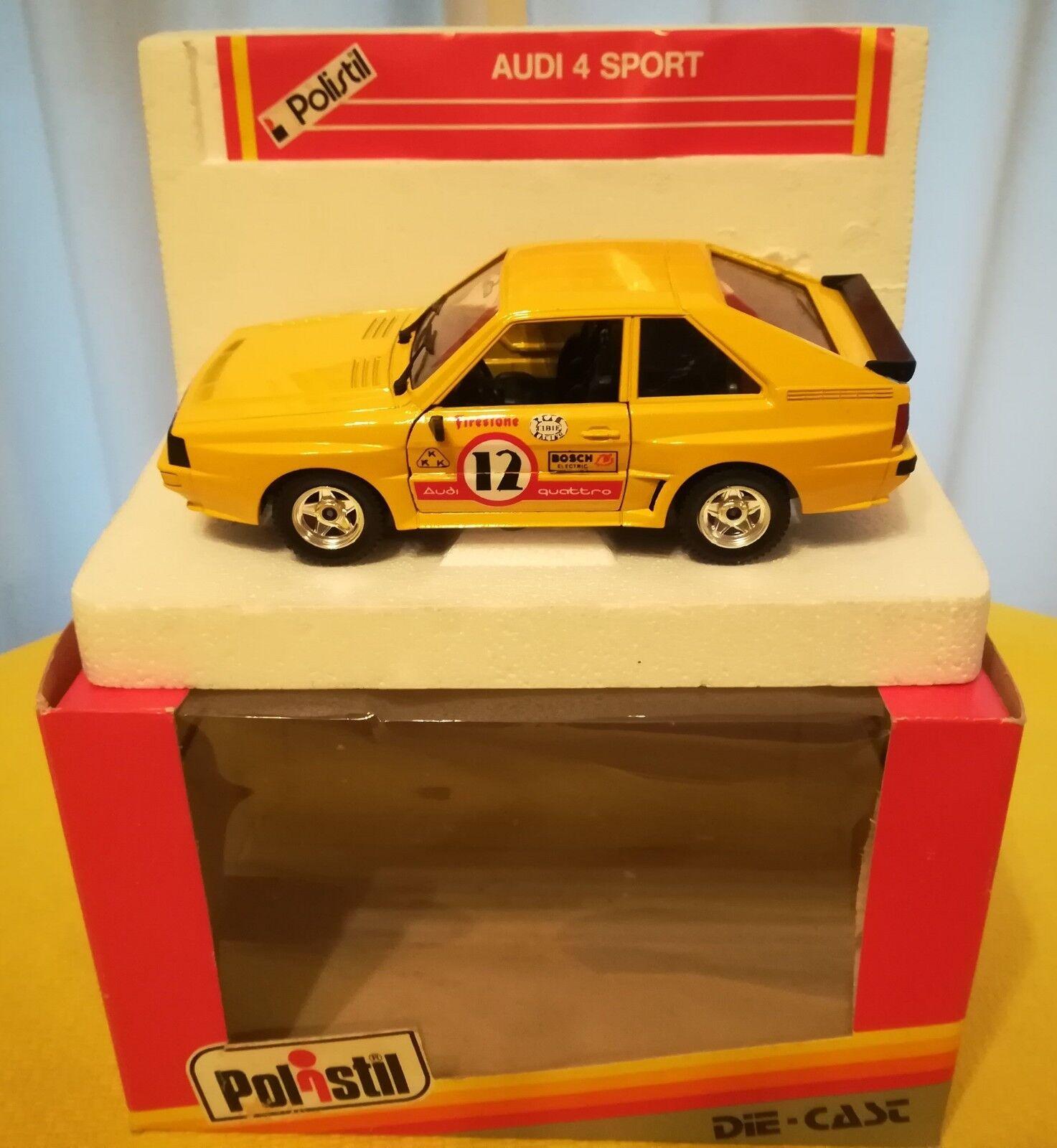 1 25 POLISTIL Serie S Audi Quattro Sport  12 MIB - No Burago Mebetoys Politoys