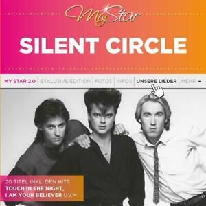 CD-Silent-Circle-My-Star-Best-of-No-1-Hits-2-New-Tracks-Italo-Disco-80s-Synthpop
