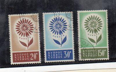 do-825 Mit Einem LangjäHrigen Ruf Zypern Europa Cept Serie Des Jahres 1964