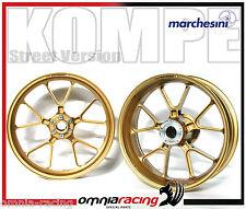 Cerchi Marchesini Alluminio Forgiato Oro Aluminium Wheels BMW S1000 RR 09