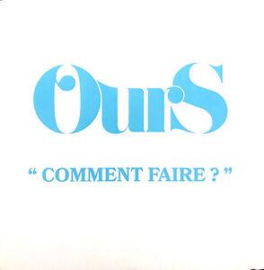 Ours-CD-Single-Comment-Faire-Promo-France-EX-M
