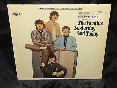 The Beatles Yesterday And Today Sealed USA 1966 VINYL LP w/ Rainbow RIAA 5