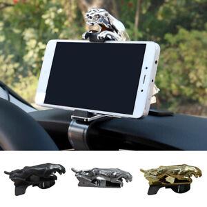 Universal Car Phone Holder Jaguar Design 360 Degree Cell GPS Mount Stand Bracket