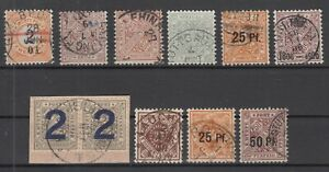 X2351-GERMANY-WURTEMBERG-1881-1919-USED-CLASSIC-LOT-CV-270