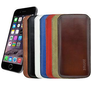 iPhone-7-Samsung-S7-S7-Edge-Echt-Ledertasche-Tasche-Schutzhuelle-Huelle-Case