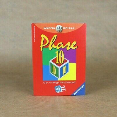 Phase 10 WГјrfelspiel Anleitung
