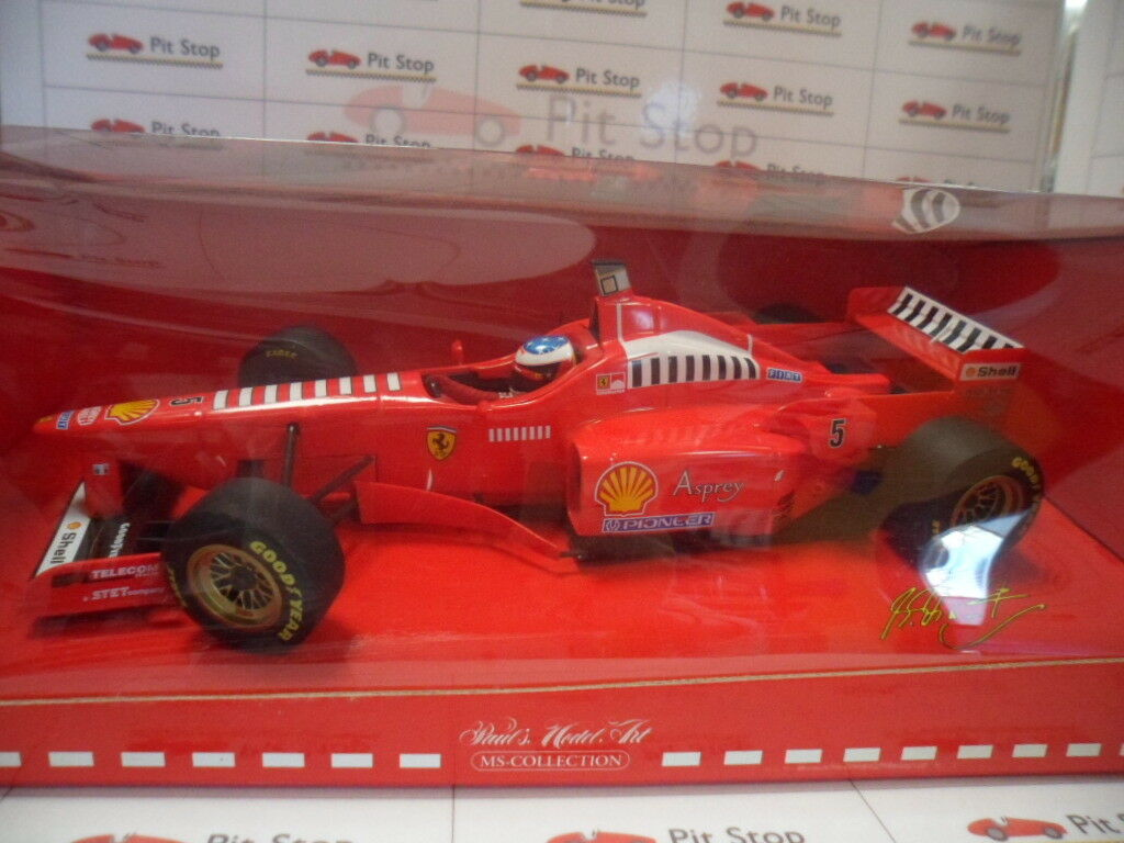 Min510971895 by minichamps ferrari 310 2 launch version 1997 m. schumacher 1